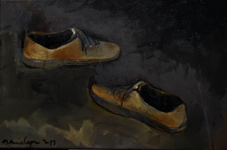 Matvey Weissberg. Yellow boots