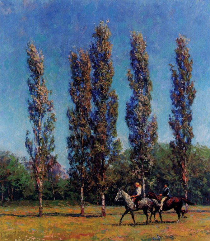 Евгений Монахов. Голубое небо