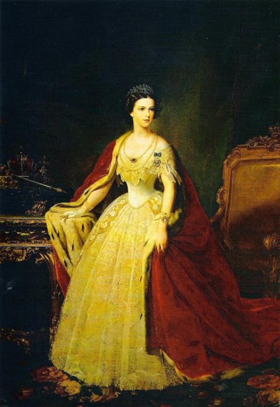 Giuseppe Bend. Empress Elizabeth of Austria