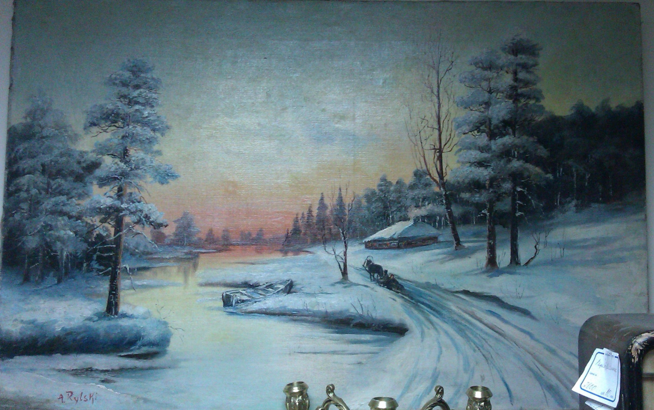 Rylsky. Winter evening