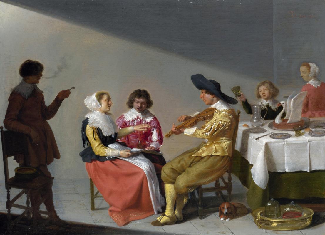 Якоб Ван Велсен. Музыкальная партия