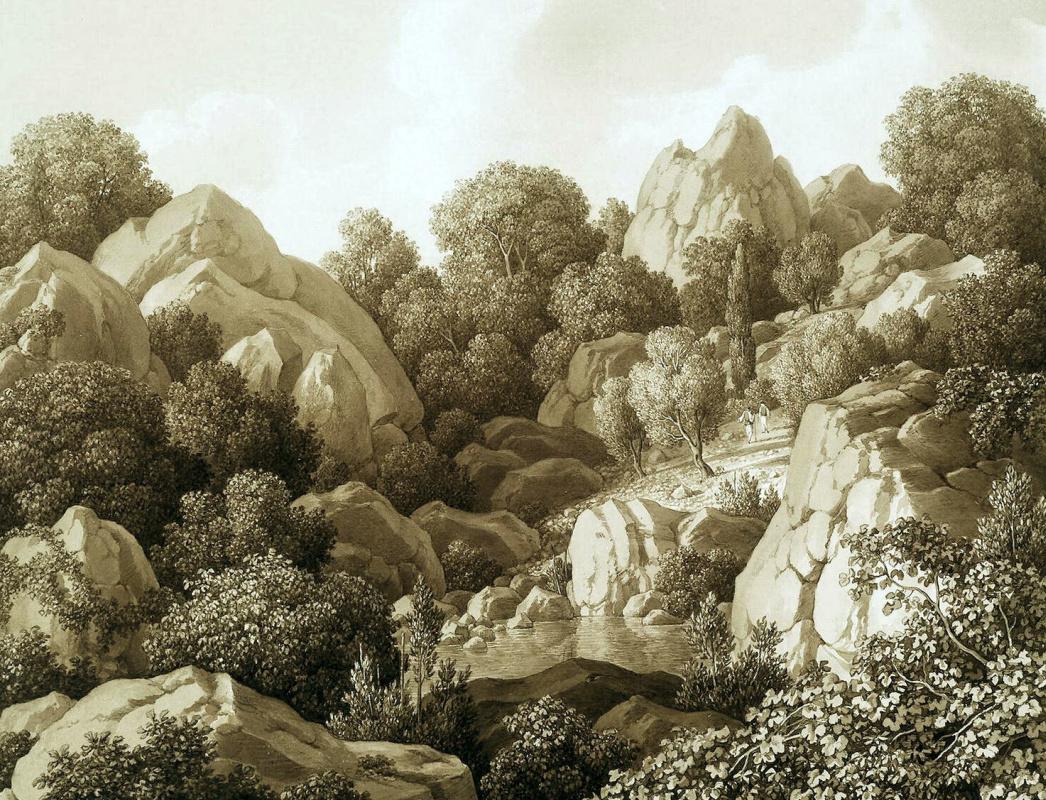 Карл фон Кюгельген. Вид близ Алупки