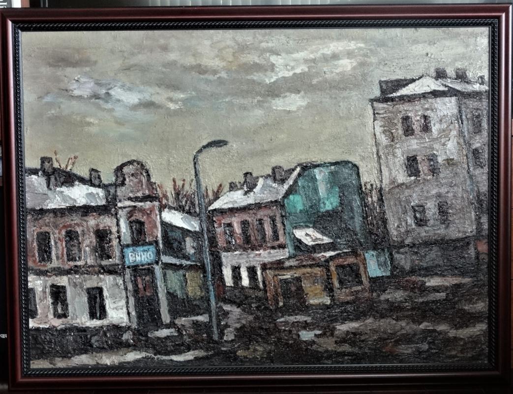 Роман Мерцлин. Городской пейзаж