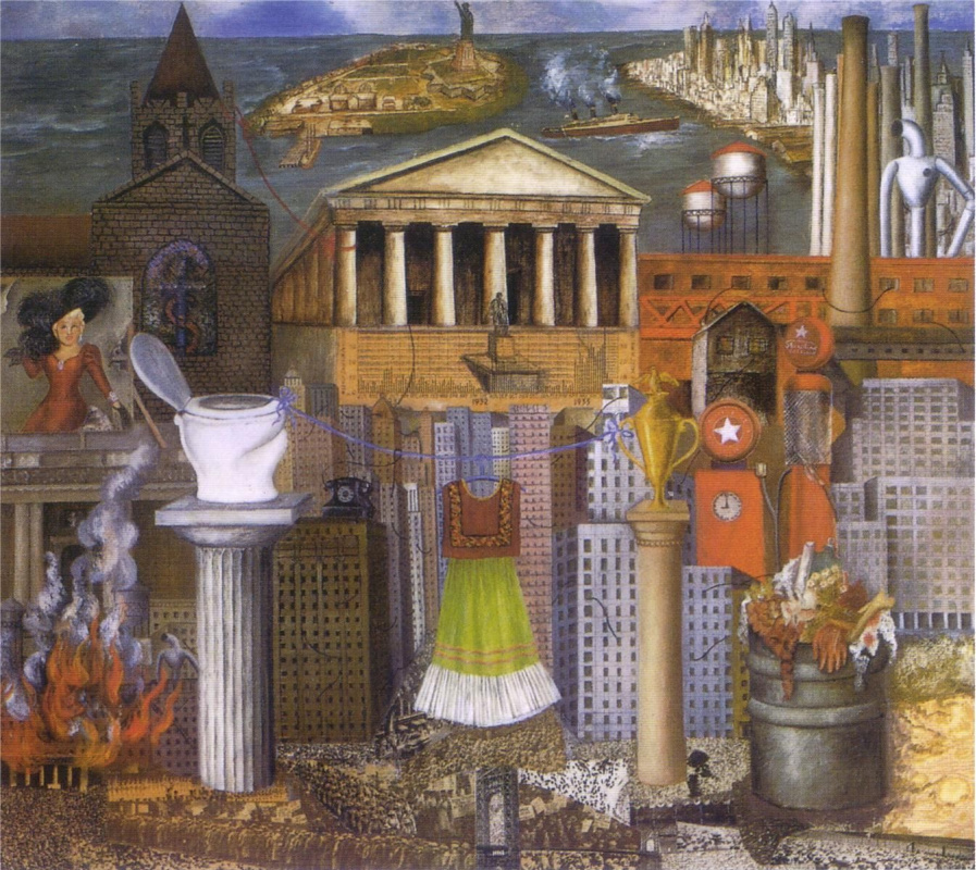 Frida Kahlo. There hangs my dress