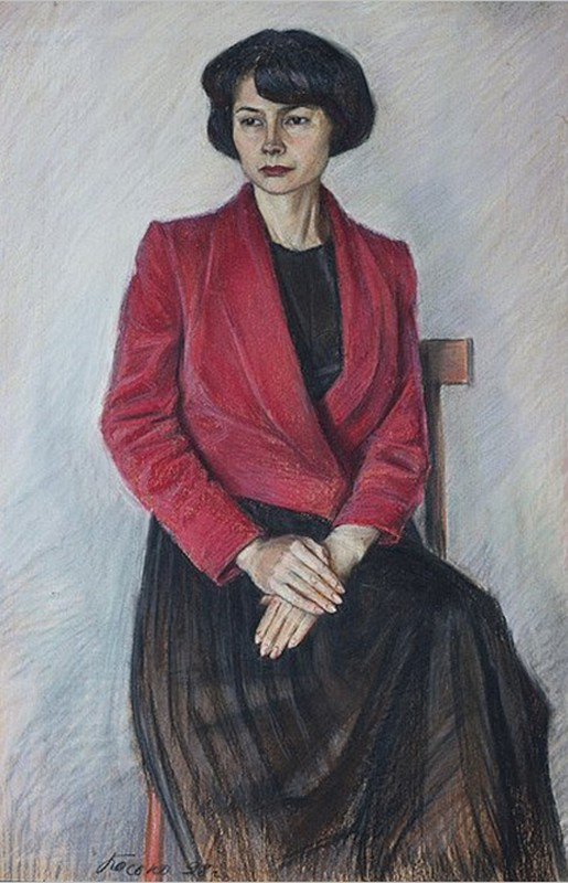Boris Georgievich Bosko. Portrait of Marina Vitalievna