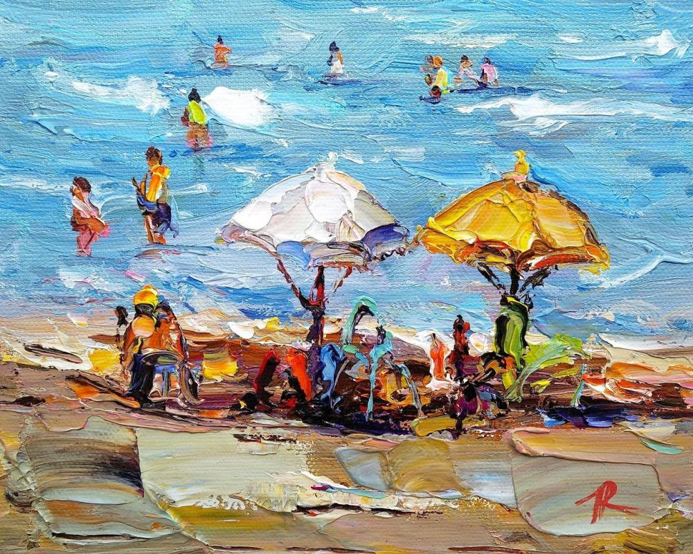 Jose Rodriguez. Summer stories. Multi-colored umbrellas N5
