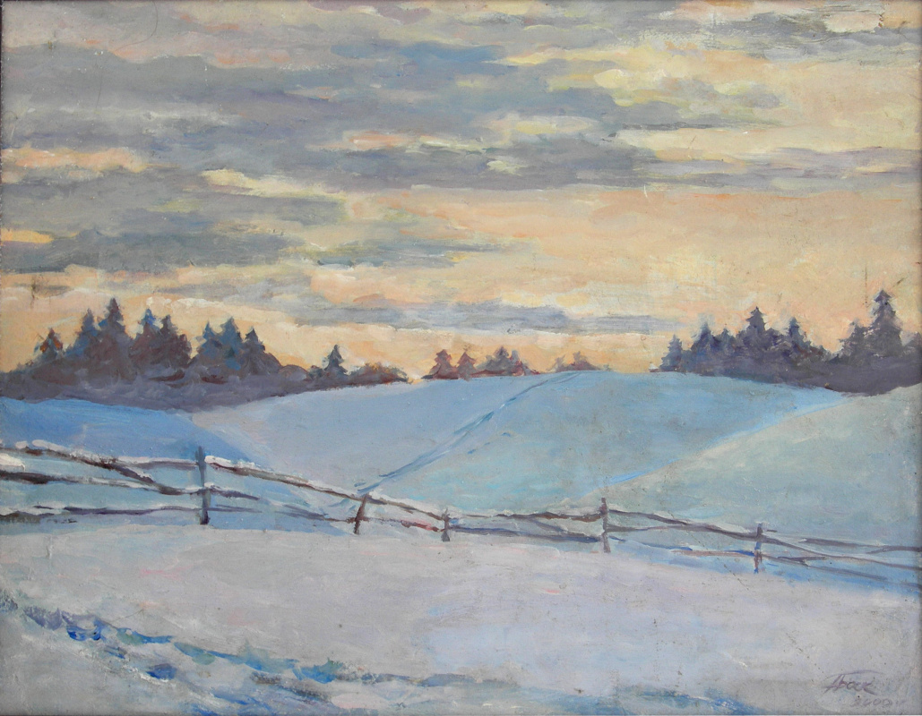 Anna Yuryevna Bosco. Winter silence