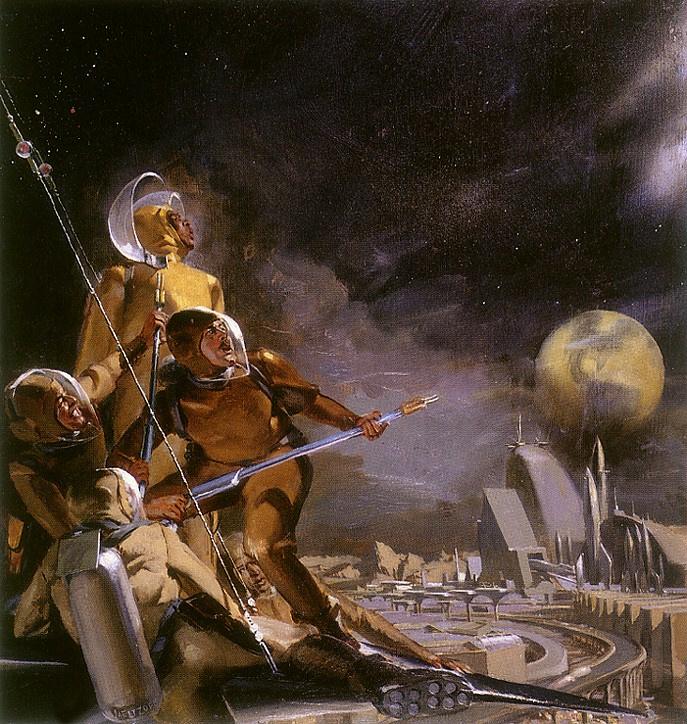 Стэнли Мелтзофф. Космический свет