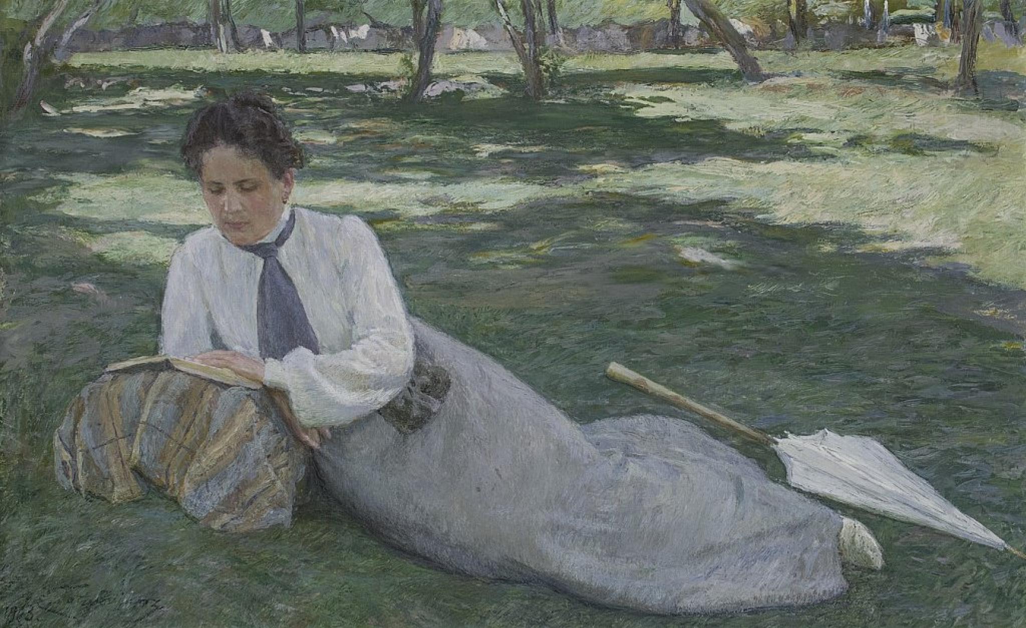 Егише Мартиросович Татевосян. Портрет Жюстины, жены художника.