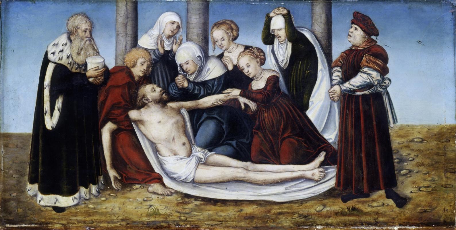 Лукас Кранах Старший. Оплакивание Христа
