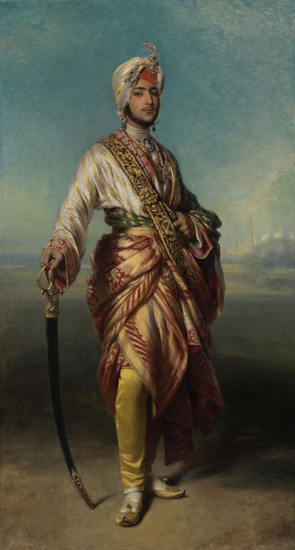 Franz Xaver Winterhalter. Maharaja Duleep Singh