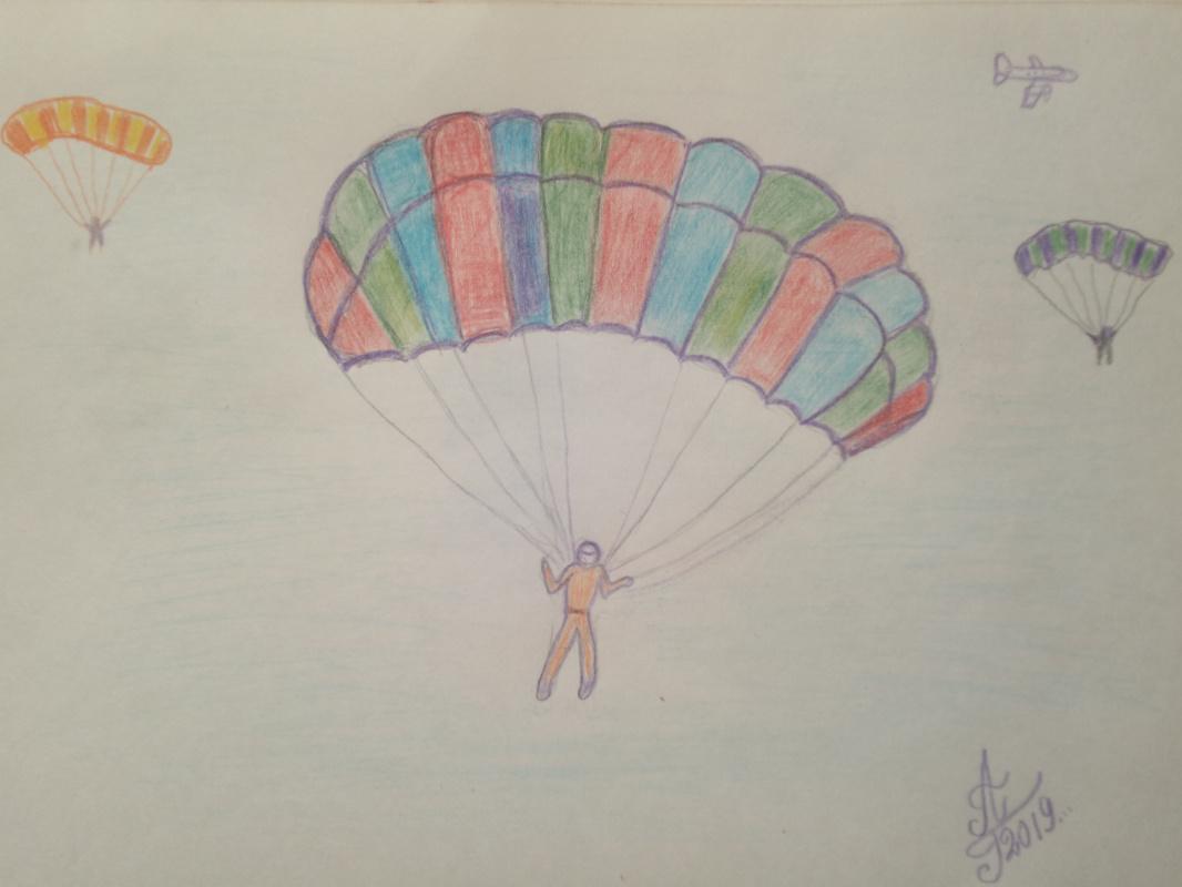 Alexey Grishankov (Alegri). Paraglider