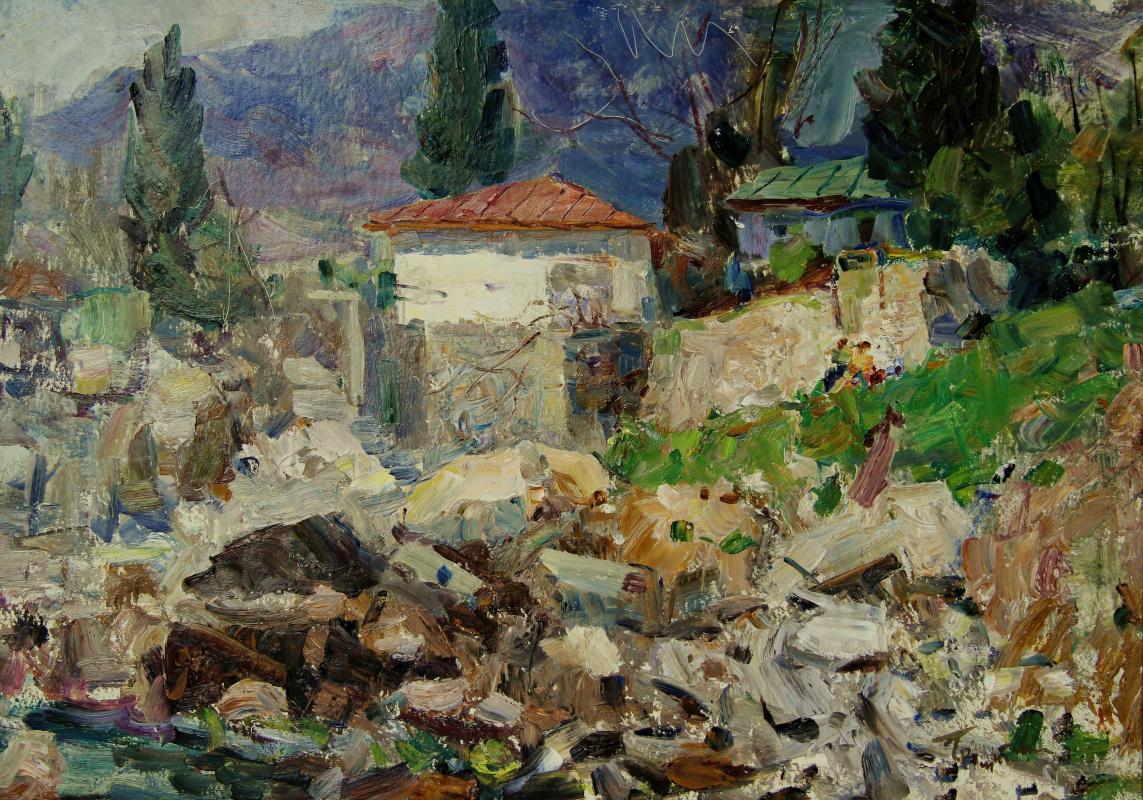 Vladimir Georgievich Gremitskykh. Anton Chekhov's house in Gurzuf