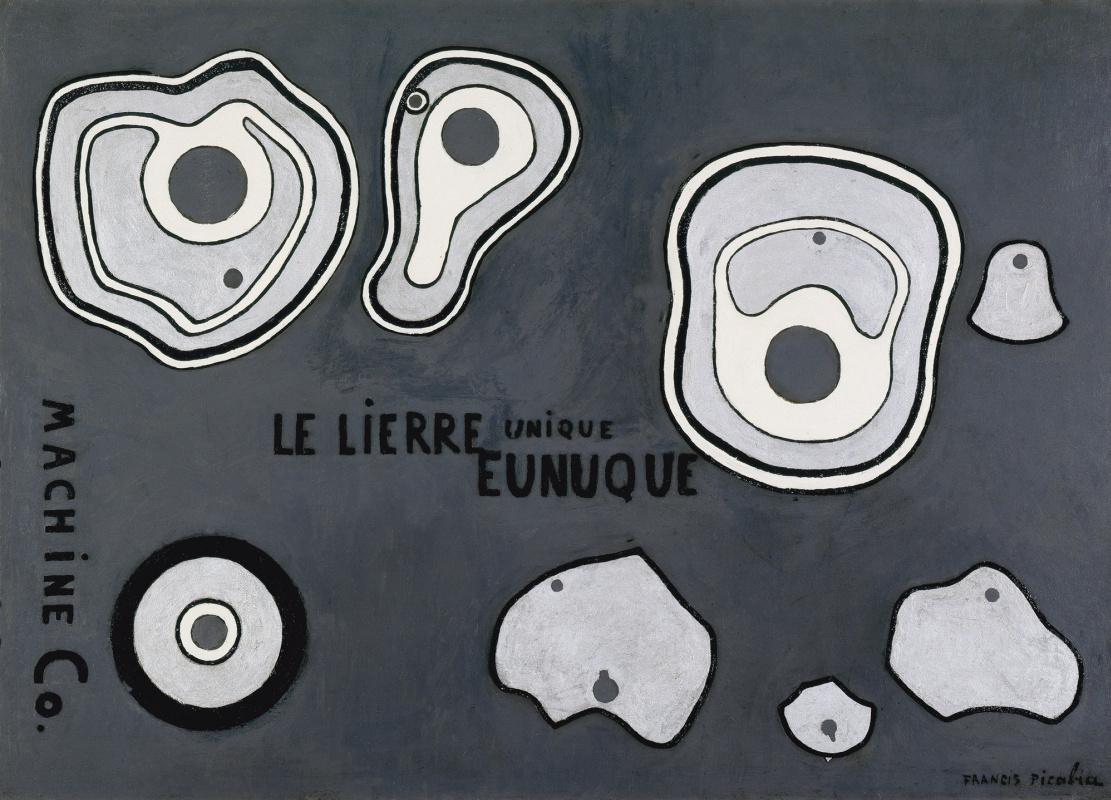 Francis Picabia. UNISONIC (Unique eunuch ivy)