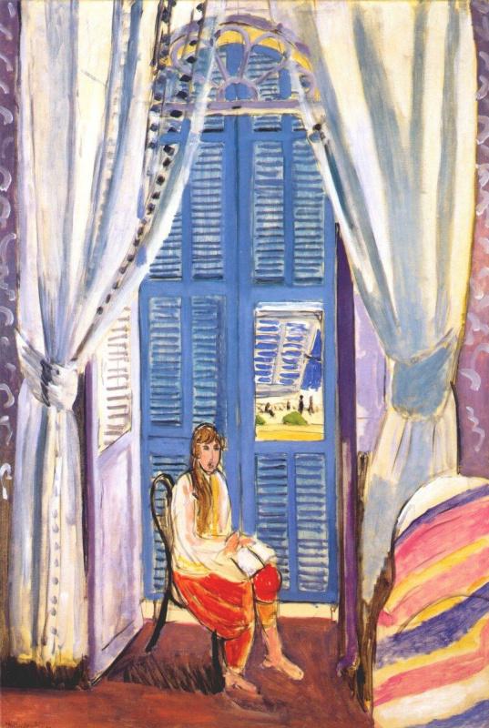 Henri Matisse. French window in Nice