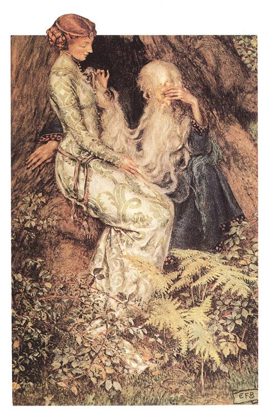 Мерлин и фея