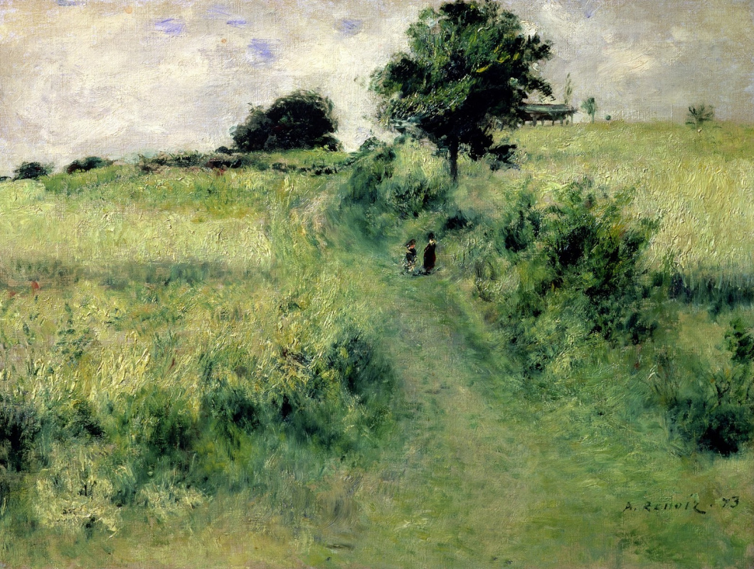 Pierre-Auguste Renoir. Meadow