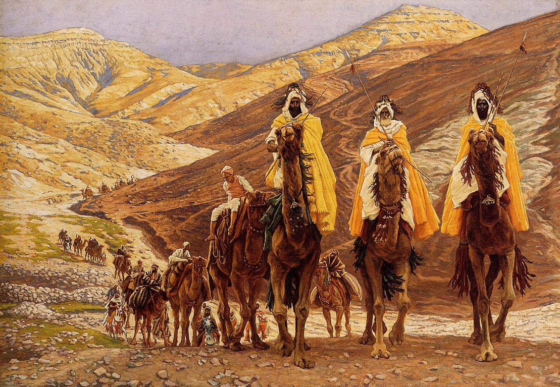 James Tissot. Journey of the Magi