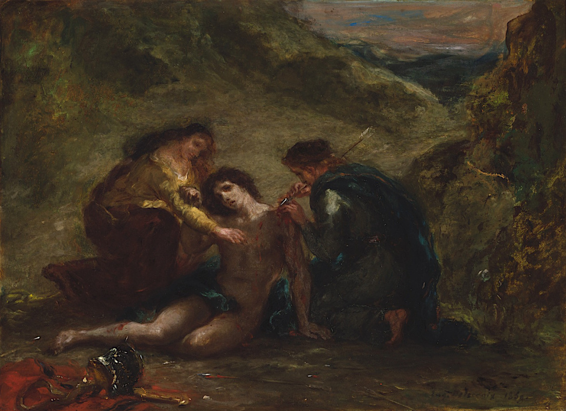 the history and visual elements of the abduction of rebecca a painting by eugene delacroix The abduction of rebecca eugene delacroix date: 1846 order oil painting reproduction share.