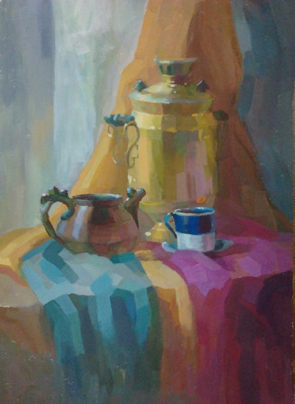 Виолетта Водяная. История церемонии чаепития