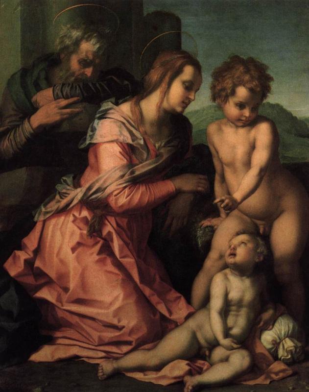 Делсарто. Святое семейство