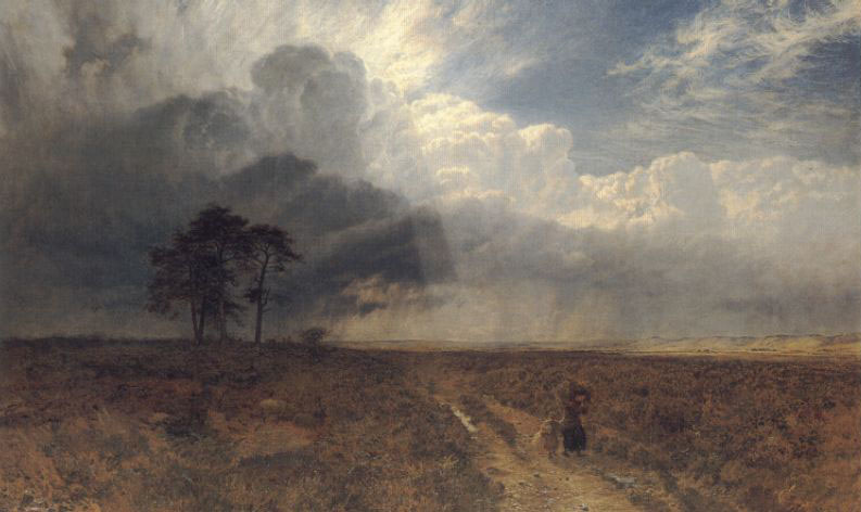 George Vicat Cole. On the hill
