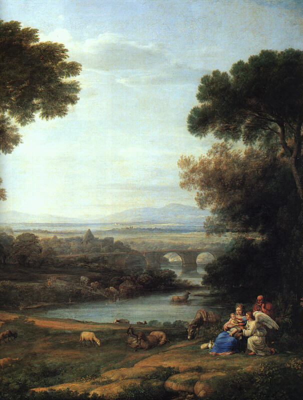 Claude Lorrain. Noon (the Rest on the flight into Egypt)