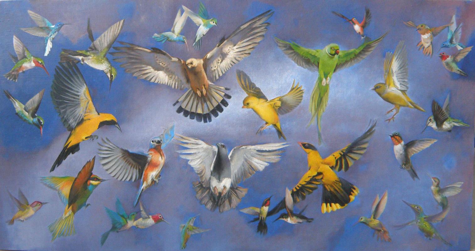 Polina Anatolyevna Kolddomasova. Birds2