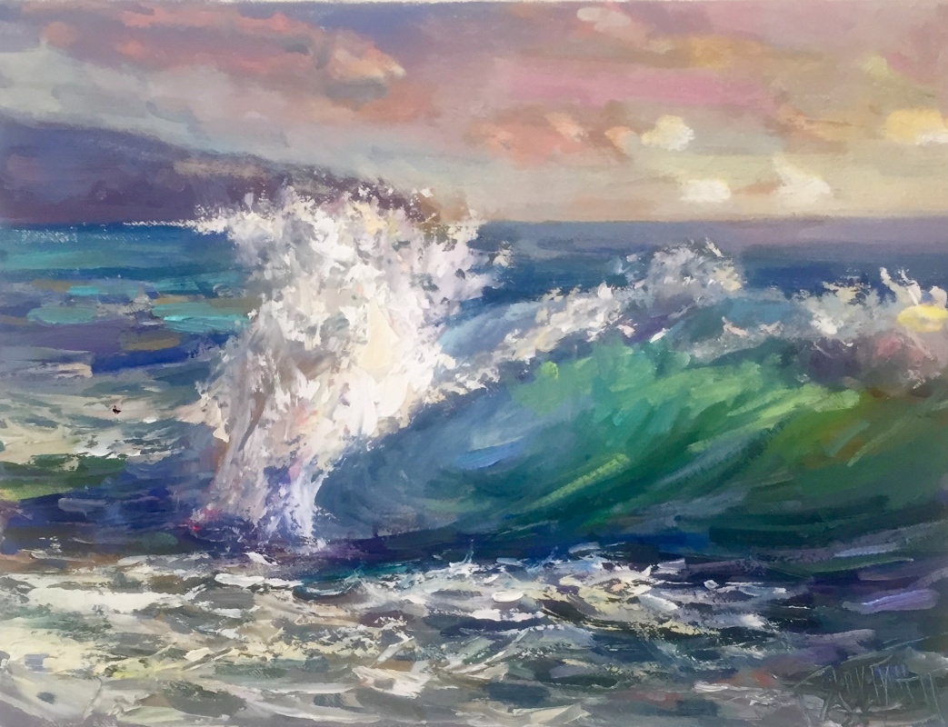 Pavel Tyapugin. Warm surf