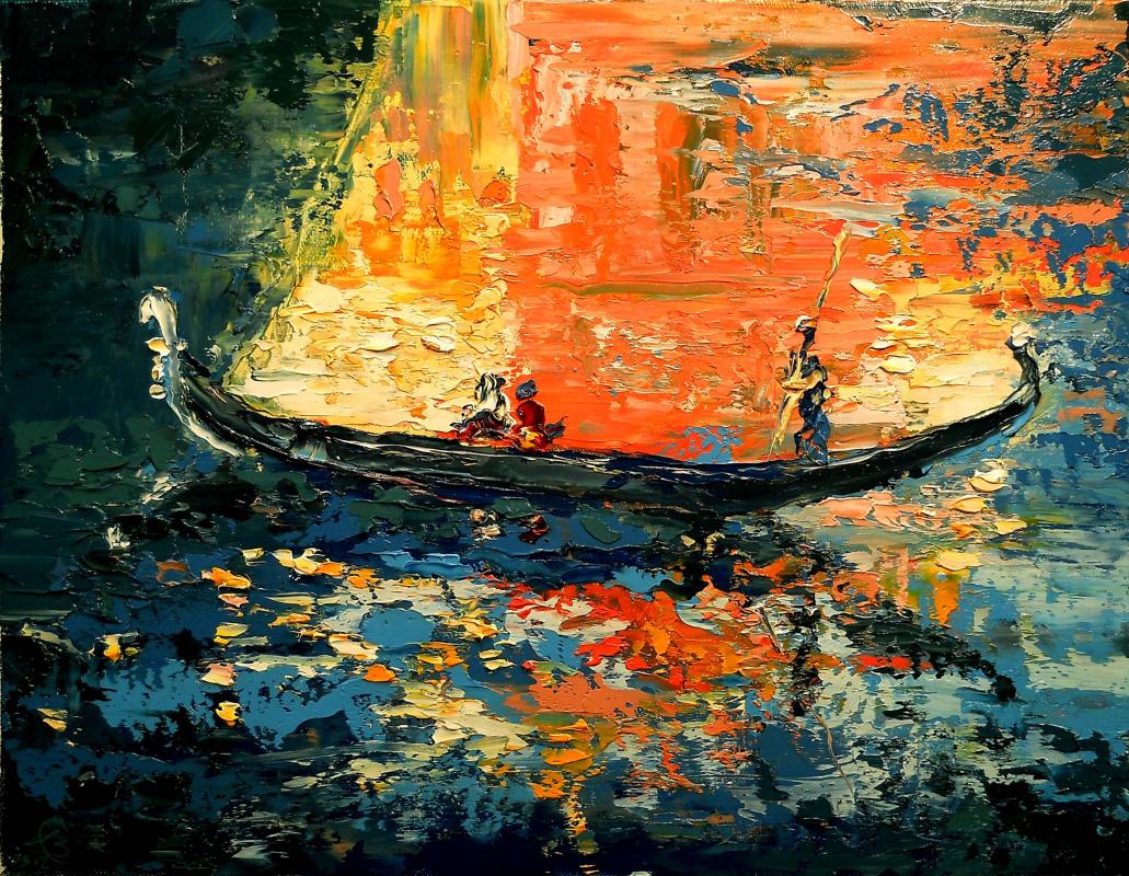 Vadim Anatolyevich Stolyarov. Reflection Of Venice
