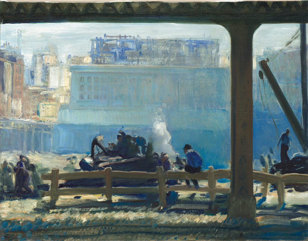 George Wesley Bellows. Blue morning
