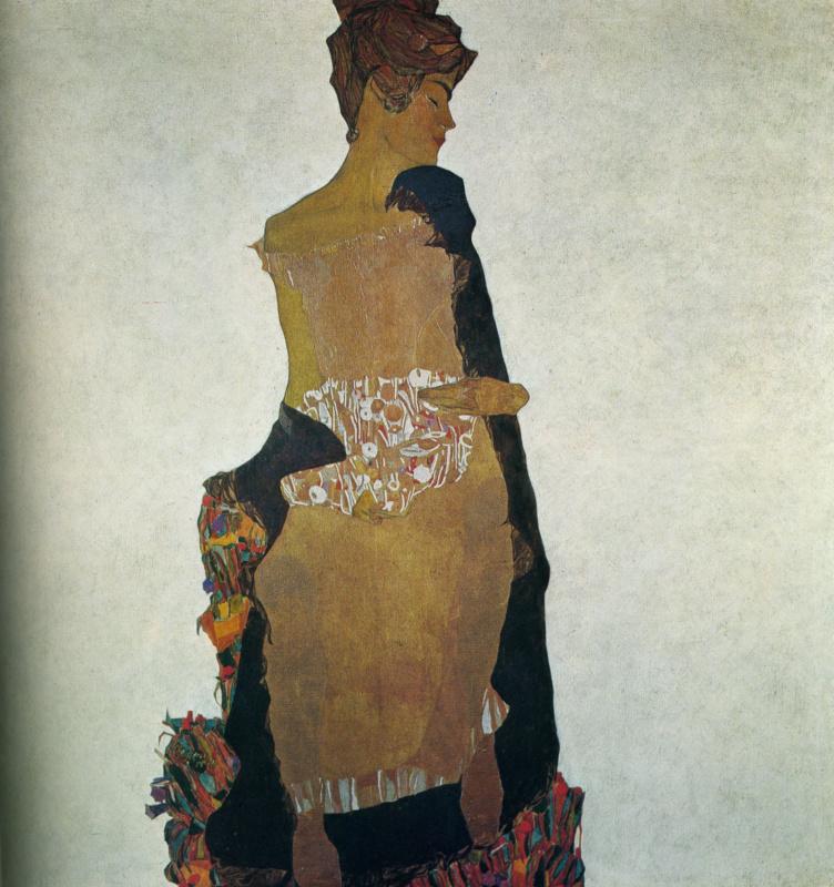 Эгон Шиле. Портрет Гертруды Шиле, сестры художника