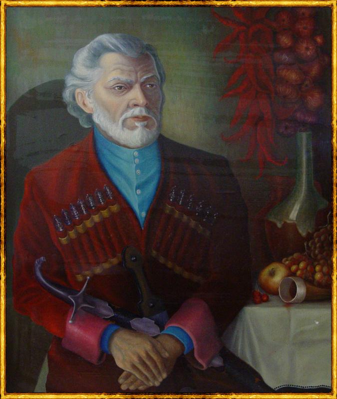 Vladimir Pavlovich Parkin. Портрет старика-грузина. Дедушка Амиран из Тбилиси.