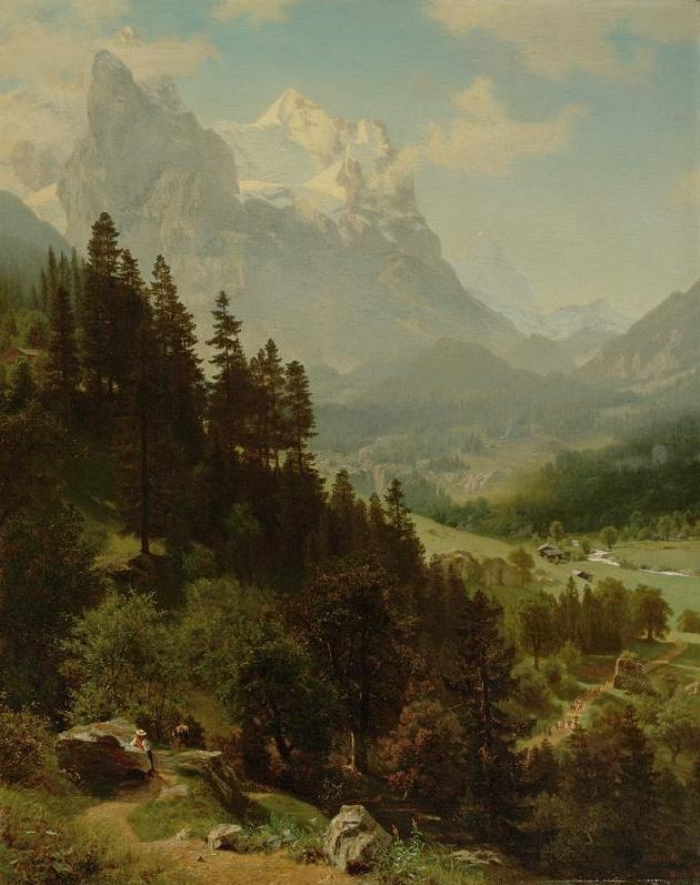 Albert Birštadt. Wetterhorn, Colorado