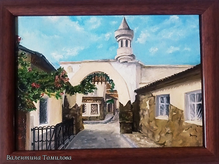 Valentina Tomilova. Evpatoria. Jewish town.