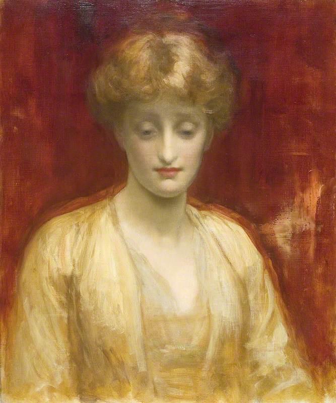 Frederic Leighton. Mrs Williams