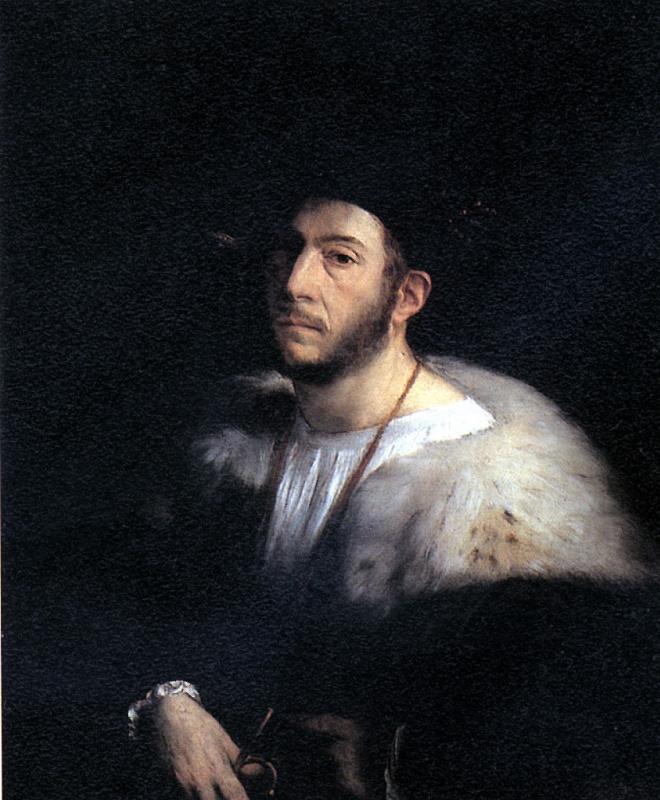 Лутеро Джованни Ди. Мужской портрет