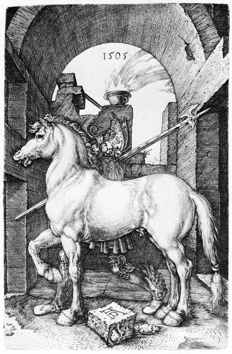Альбрехт Дюрер. Малый конь