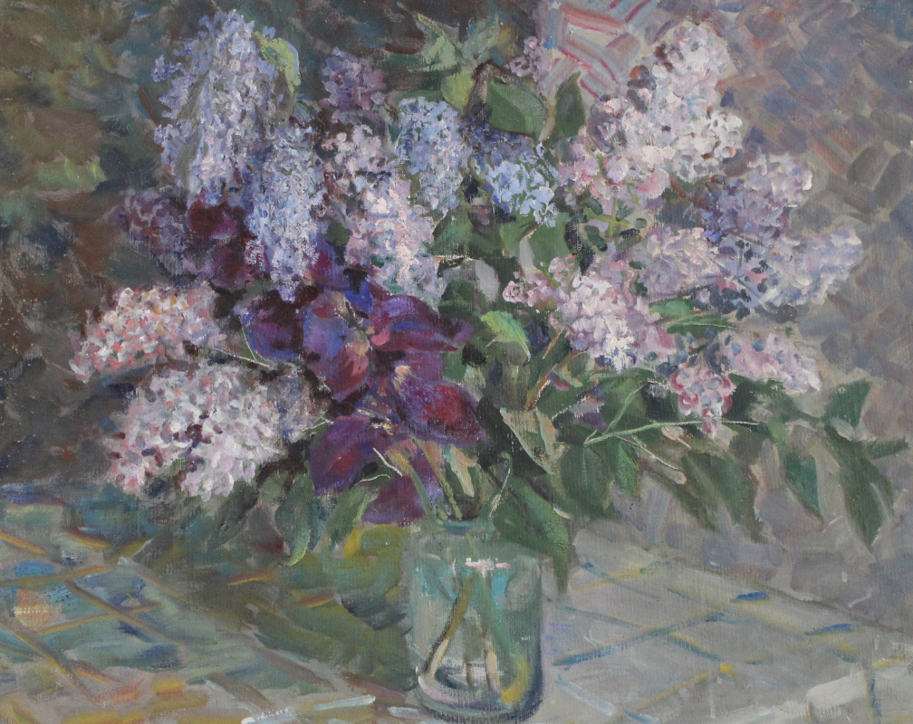 Vasily Fadeevich Demin. Ryazan lilac