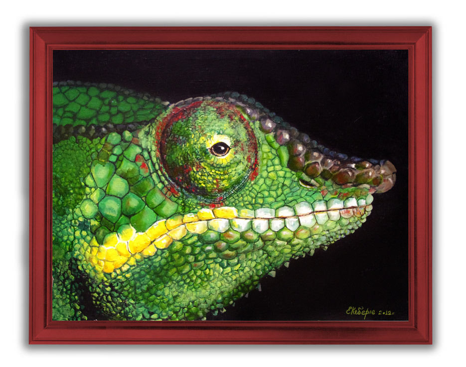 Kati Keberle. Lizard