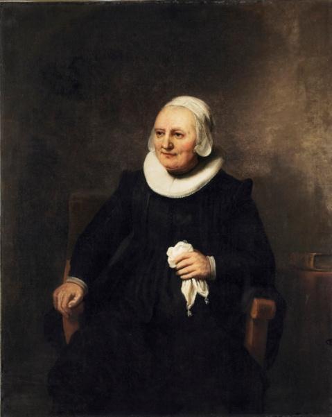 Карел Фабрициус. Портрет женщины с платком