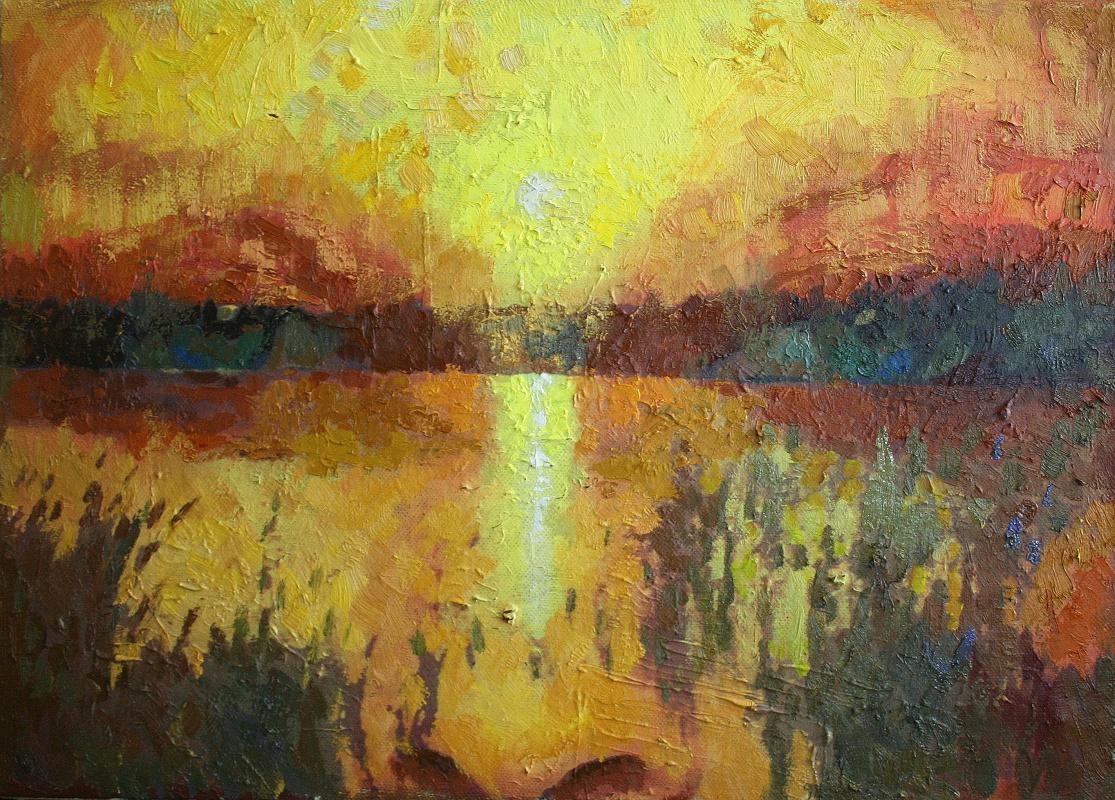 Mikhail Rudnik. Sunset