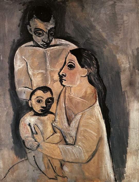 Пабло Пикассо. Мать и ребенок на руках
