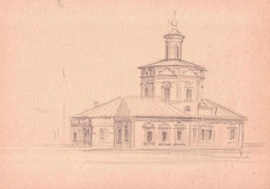 Arkady Pavlovich Laptev. Church