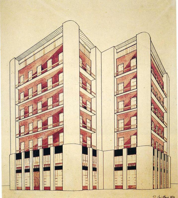 Марио Чиаттон. Высотные здания