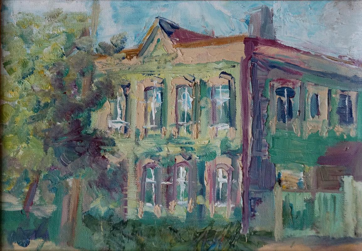 Александр Ломаев. Cozy architecture on Dzerzhinsky Lane