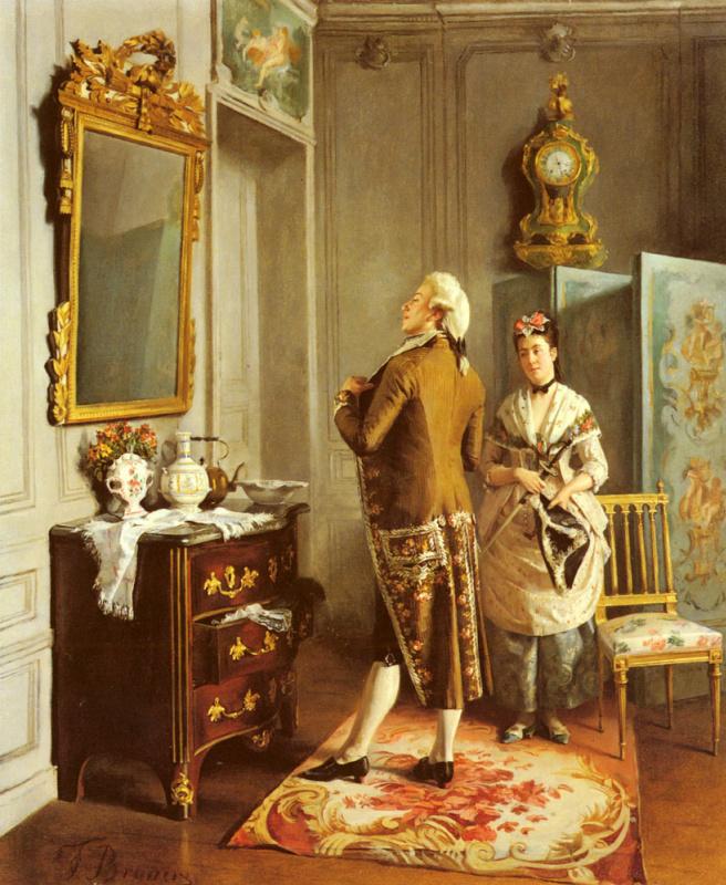 Франсуа Брюнери. Зеркало