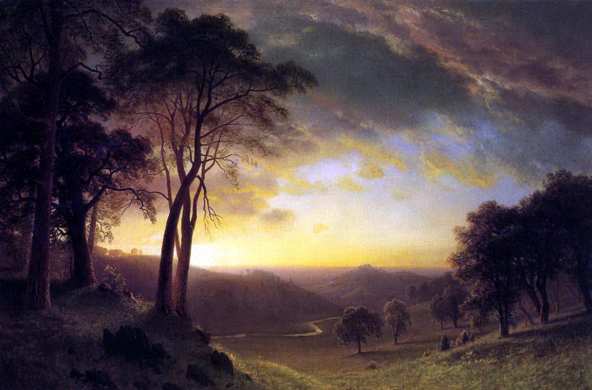 Альберт Бирштадт. Долина реки Сакраменто