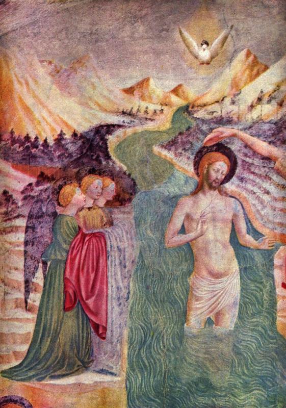 Томмазо Мазолино. Крещение