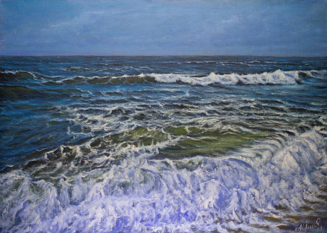 Valery Levchenko. № 625  Морской пейзаж.